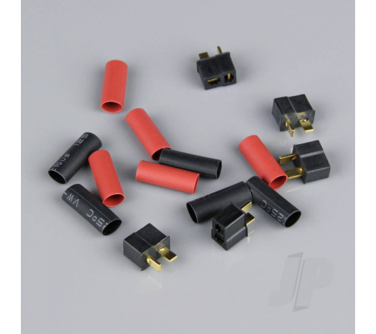 Mini Deans Female including Heat Shrink (Battery End) (5pcs) - RDNAC010015