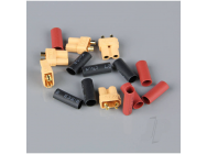 XT30 Female (Battery End) including Heat Shrink (5pcs) - RDNAC010019