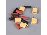 XT30 Male including Heat Shrink (ESC End) (5pcs) - RDNAC010020