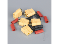 XT60 Female (Battery End) including Heat Shrink (5pcs) - RDNAC010025
