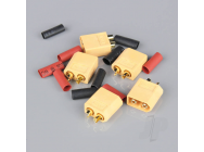 XT60 Male including Heat Shrink (ESC End) (5pcs) - RDNAC010026