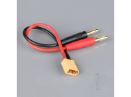 Charge Lead 4mm Bullet to XT60 Male 14AWG 150mm (ESC End) - RDNAC010027