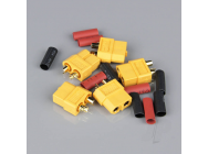 XT60 Female with Cap End (Battery End) (5pcs) - RDNAC010032