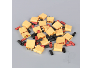XT90 Pairs including Heat Shrink (10pcs) - RDNAC010035