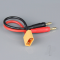 Charge Lead 4mm Bullet to XT90 Male 12AWG 150mm (ESC End) - RDNAC010038