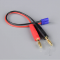 Charge Lead 4mm Bullet to EC2 Male 18AWG 150mm (ESC End) - RDNAC010056