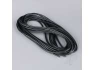 Silicone Wire 14AWG 25ft / 7.5m Black (on a roll) - RDNAC010136