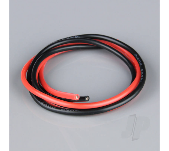 Silicone Wire 14AWG 2ft / 0.6m Red-Black - RDNAC010145