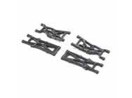 Suspension Arm Set Front/Rear: Mini-T 2.0 - LOS214003