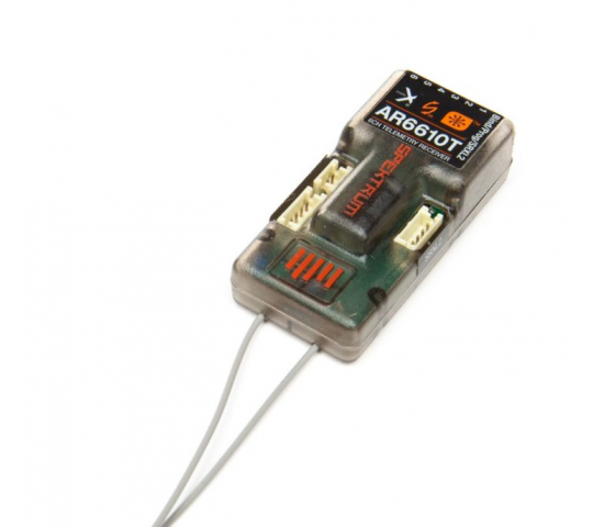 AR6610T 6 Channel DSMX Telemetry Receiver - SPMAR6610T