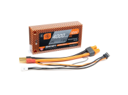 4000mAh 2S 7.6V 100C Smart HV LiPo Short 5mm Tubes - SPMX40002S100HT