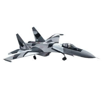 SUKHOI 35 Gris 70mm EDF PNP Freewing Model - FW-F3101A-PNP