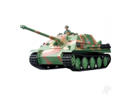 Char RC 1:16e German Jagdpanther Infrarouge ( 2.4GHz +  Bille + Infrarouge + Fumee + Son ) Henglong - HLG3869-1B