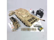 1:16 US British Challenger 2 with Infrared Battle System (2.4GHz + Shooter + Smoke + Sound) - HLG3908-1B
