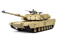 1:16 US M1A2 Abrams with Infrared Battle System (2.4GHz + Shooter + Smoke + Sound) - HLG3918-1B