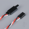 Futaba Twisted HD Extension Lead with Clip 200mm - RDNAC010231