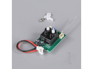 Receiver with Gyro and Surface Mounted Servos (for P-51) - SNKPR2215