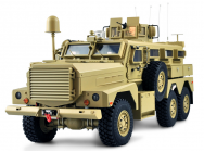US ARMY MRAP 6WD 1/12 sons et fumee RTR - 22428
