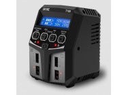 T100 Duo AC Chargeur (LiPo 2-4s 5A 2x50w) - SKY100162