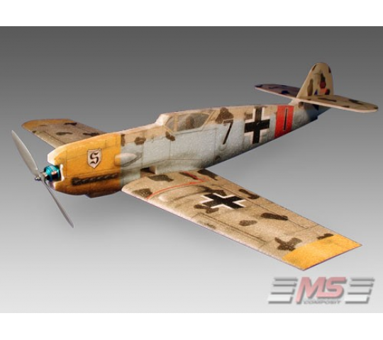 Messerschmidt BF-109 0,89cm - EPP - MS Composit - MSC-19000