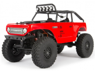 SCX24 Deadbolt 1/24th Scale Elec 4WD - RTR, Red - AXI90081T1