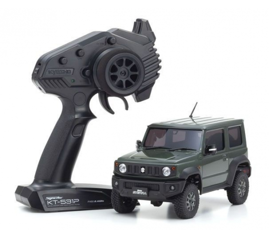 Mini-Z 4x4 MX-01 Suzuki Jimny Sierra Jungle Green RTR - K.32523GR