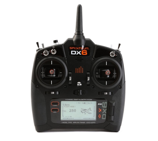 Emetteur DX6 Diversity Mode 2 Spektrum - SPMR6750EU-COPY-1