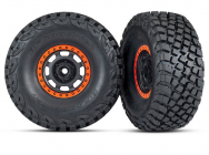 ROUES MONTEES COLLEES DESERT RACER ORANGE (2) - TRX8472