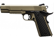 RŽplique GBB 1911 MEU Rail Raven full metal gaz Tan 1,0J - PG3248