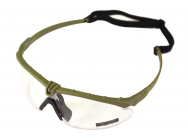Lunettes Battle Pro Thermal Vert/Clear avec insert - Nuprol - A69698