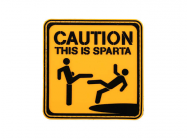 Patch PVC This is Sparta - A60302