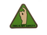 Patch PVC This is my Safety - A60303