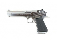 RŽplique GBB Desert Eagle .50AE Hard Kick gaz chrome 0,8J - PG3303