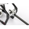 Alu. 2 mm Boom Mount for Carbon Chassis (MCPX) - XTR-MCPX016-E