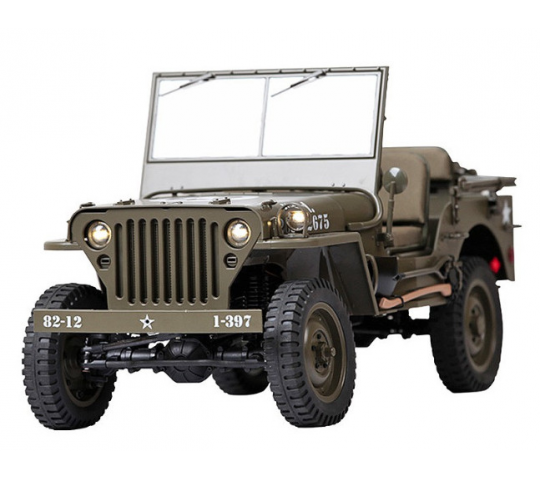 Jeep Willys 1941 MB 1/6 RTR - ROC001RS