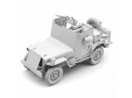 Kit 1/16e WW II Willys Jeep Blindee - 2222000330