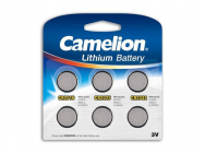 Pack Mix de 6 piles Camelion Lithium CR2016, CR2025, CR2032 - 14377
