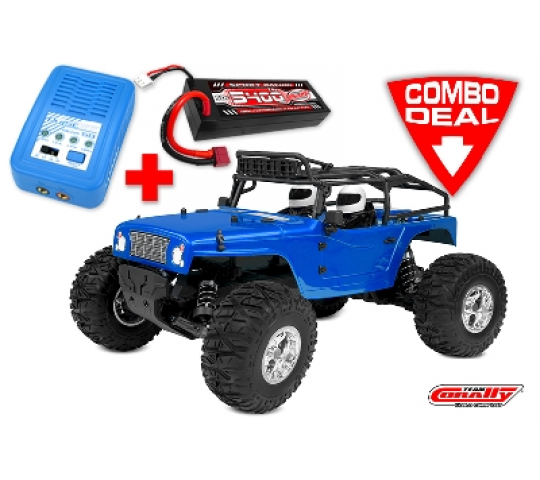 CORALLY MOXOO SP 2WD TRUCK 1/10 BRUSHED RTR - C-00256-COPY-1