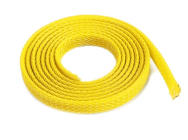 Manchon de protection pour cables - Tresse - 10mm - Jaune - 1m - GF-1476-033-COPY-1