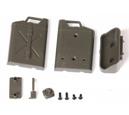 Jerrycan avec support Jeep Willys 1/6 - ROCC1054