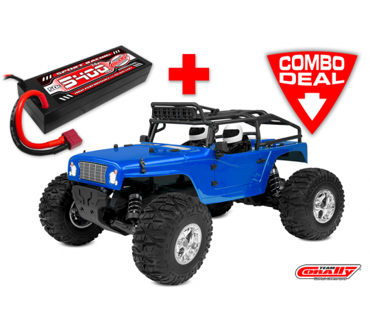 MOXOO SP Combo - w/ LiPo Battery TC Power Racing 50C 2S 5400mAh - C-00256-C1