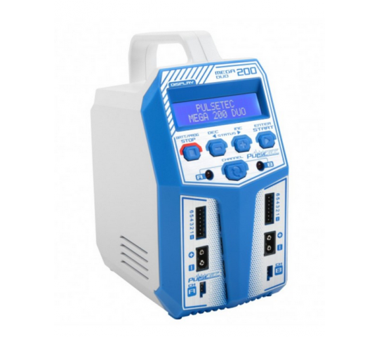 Chargeur Duo Mega 200 AC/DC 2x100W - PC-019-003