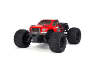 Arrma 1/10 Granite Mega 4x4 Brushed 4WD MT Rouge/Noir - ARA102714IT2