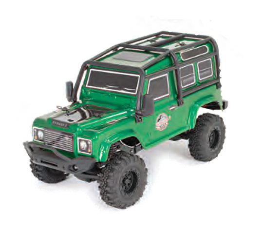 Outback Mini 3.0 Ranger 1/24 RTR Dark Green - FTX5503G