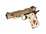 Replique GBB 1911 MEU Raven full metal Gaz Digital Desert - TAN  1J - PG3258
