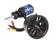 Turbine 64mm 11 pales + Moteur Brushless 2840-KV3150  - BDL-TURB-64mm
