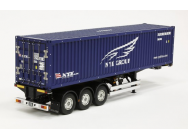 Semi-Remorque Container 40ft NYK Tamiya 1/14 - TAM-56330