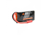 Accu Lipo Smart 800mAh 1S 3.7V 30C LiPo Battery - JST - Spektrum - SPMX8001S30