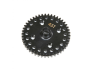 Center Diff 45T Spur Gear, Lightweight 8X - Team Losi - TLR342020