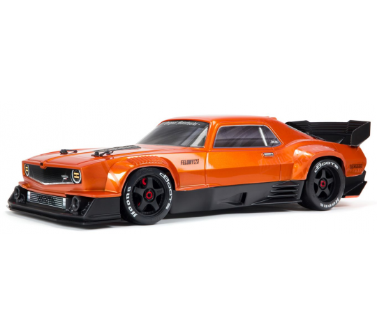 Arrma Felony 1/7 BLX 6S Street Bash Muscle Car RTR Orange - ARA7617V2T2